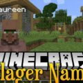 Villager Names Mod for Minecraft 1.15.2/1.14.4/1.12.2
