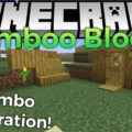 Bamboo Blocks Mod for Minecraft 1.15.2/1.14.4