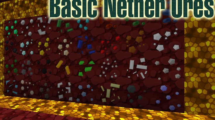 Basic Nether Ores Mod for Minecraft 1.15.2/1.14.4