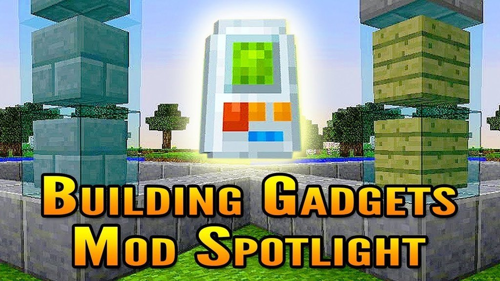 Building Gadgets Mod for Minecraft 1.15.2/1.14.4/1.12.2