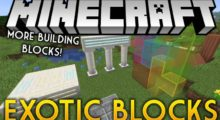 Exotic Blocks Mod for Minecraft 1.15.2/1.14.4