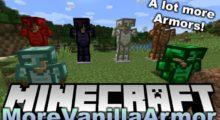 MoreVanillaArmor Mod for Minecraft 1.15.2/1.14.4