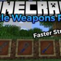Battle Weapons Pack Mod for Minecraft 1.15.2