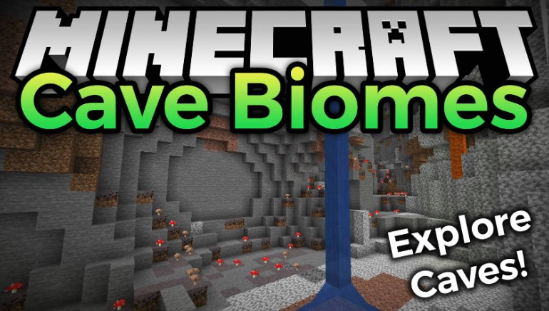 Cave Biomes Mod for Minecraft 1.16