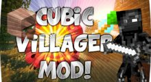 Cubic Villager Mod for Minecraft 1.15.2/1.12.2