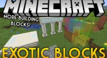 Exotic Blocks Mod for Minecraft 1.16