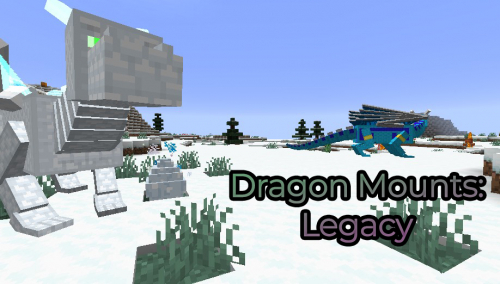 Dragon Mounts Legacy Mod for Minecraft 1.15.2