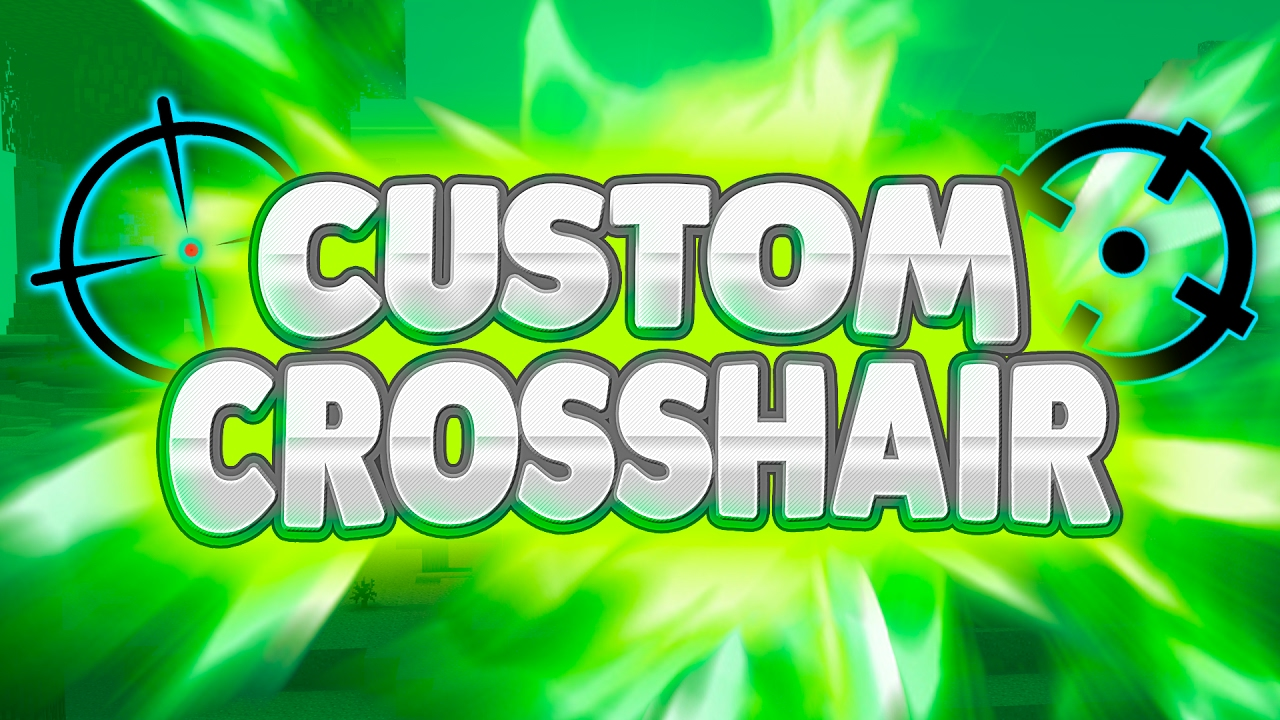 Custom Crosshair Mod for Minecraft 1.15.2/1.14.4