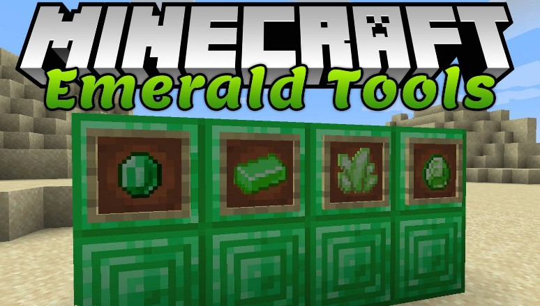 Emerald Tools Mod for Minecraft 1.15.2/1.14.4