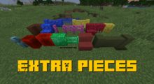 Extra Pieces Mod for Minecraft 1.15.2/1.15/1.14.4