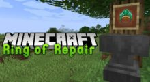 Ring of Repair Mod for Minecraft 1.16/1.15.2