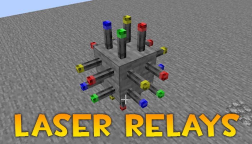 Laser Relays Mod for Minecraft 1.16.1