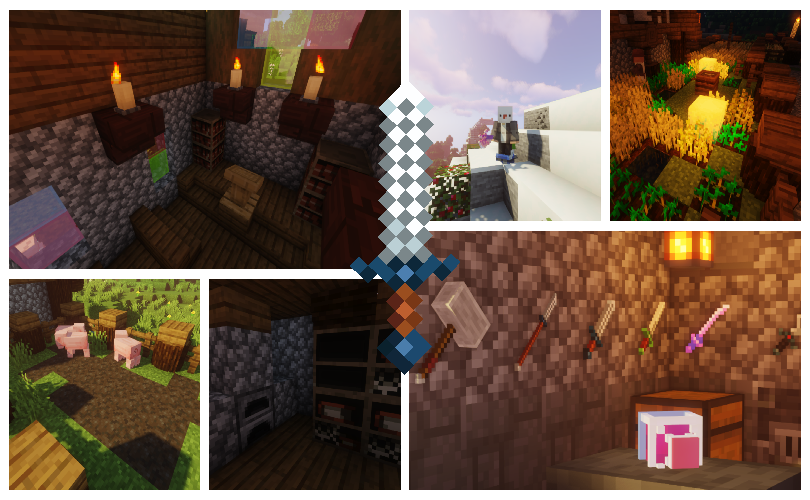 Oh Dungeons Items Mod for Minecraft 1.15.2