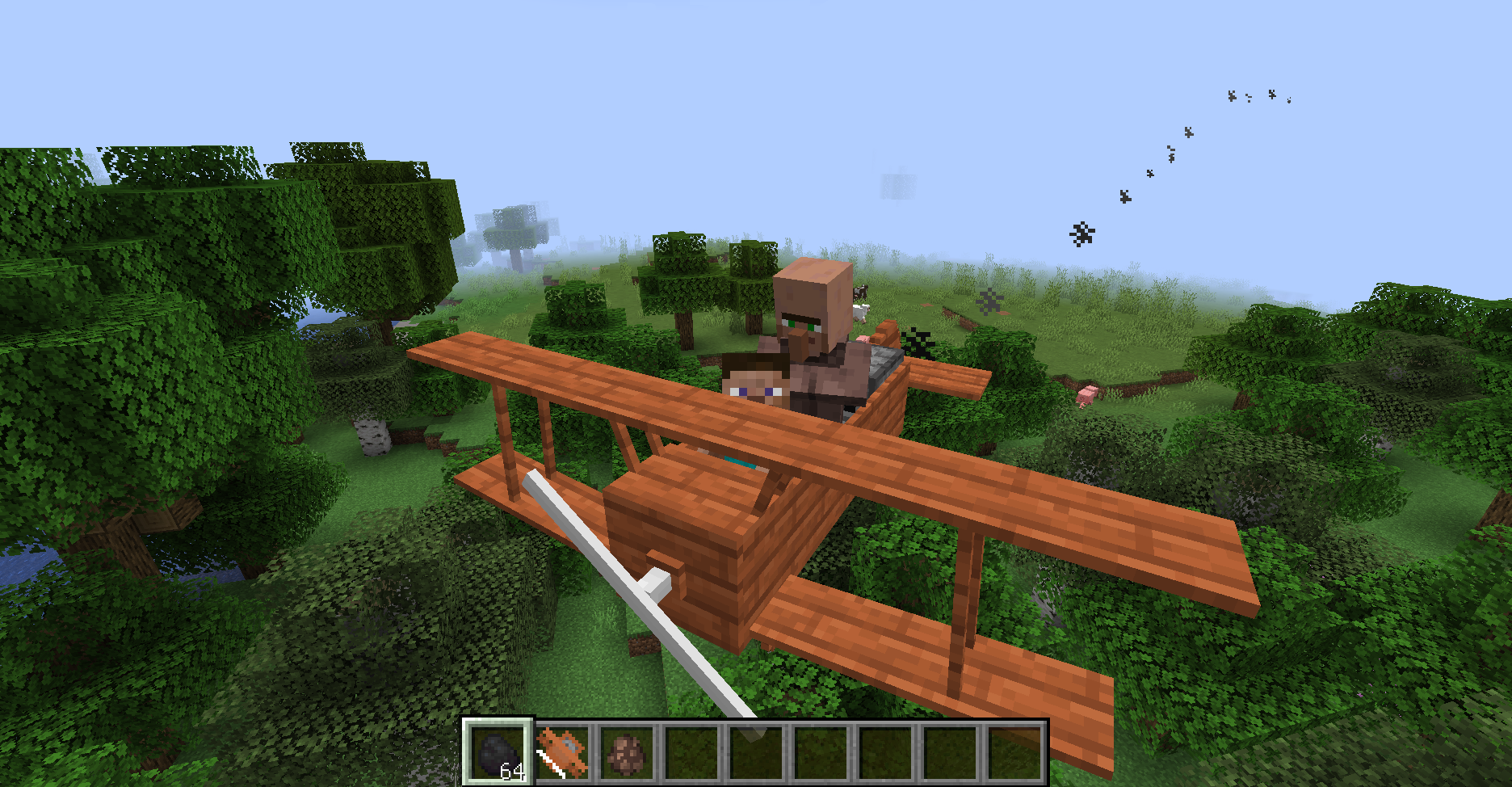Simple Planes Mod for Minecraft 1.16.1/1.15.2