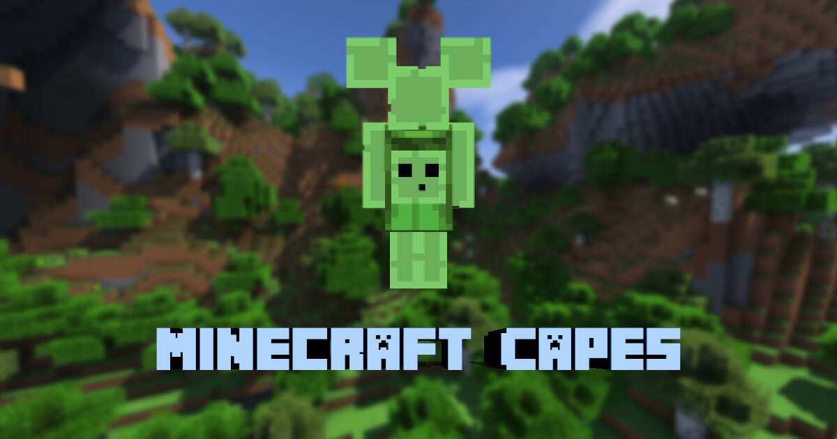 Minecraft capes