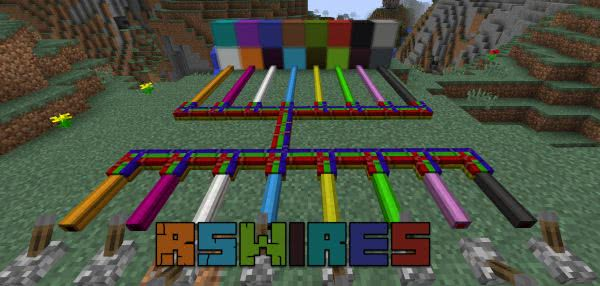 RSWires Mod for Minecraft 1.16.2/1.16.1/1.15.2