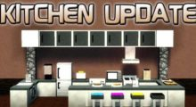 Mod for furniture and appliances in Minecraft 1.16.1