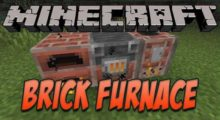 Brick Furnace Mod for Minecraft 1.16.2/1.15.2