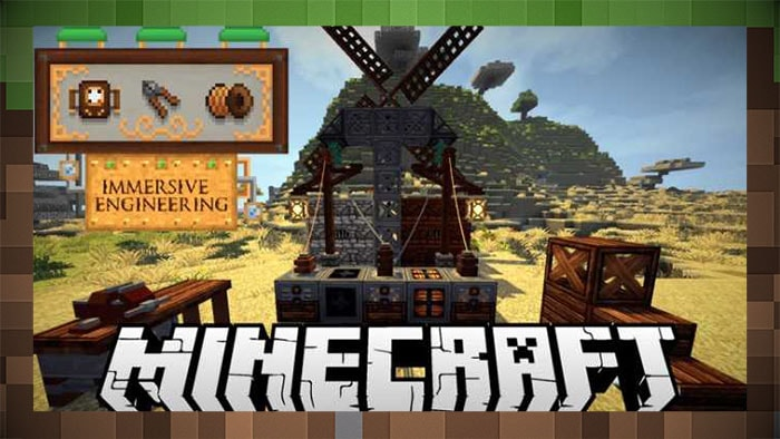 Immersive Engineering Mod for Minecraft 1.16.3/1.15.2/1.12.2