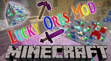 Lucky Ores Mod for Minecraft 1.16.3/1.16.2/1.16.1