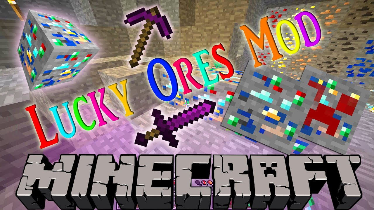 Lucky Ores Minecraft