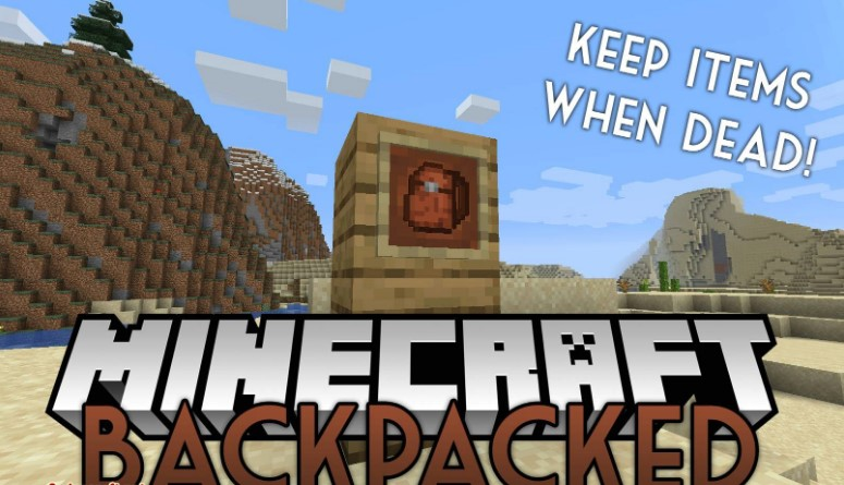 MrCrayfish's Backpacked Mod for Minecraft 1.16.3/1.16.1