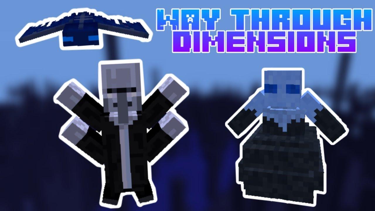 Way Through Dimension Mod for Minecraft 1.15.2