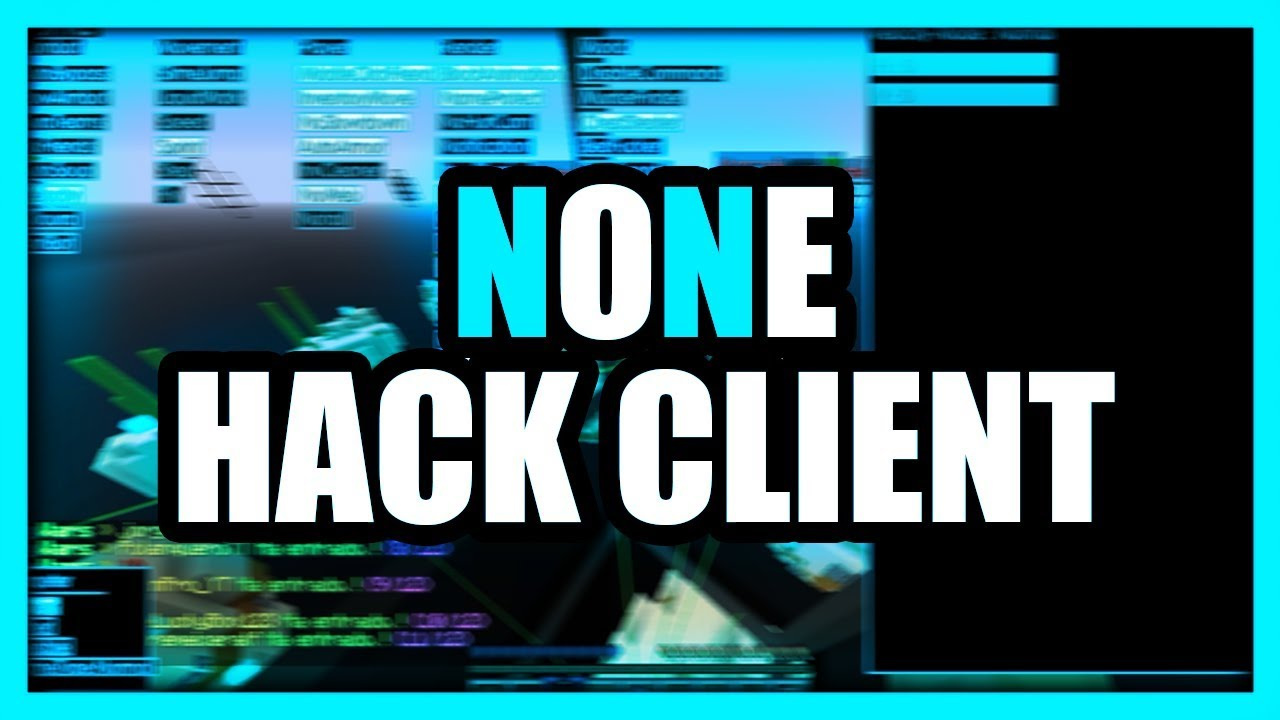hacked client None for Minecraft 1.16.3