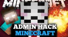 Admin hack for Minecraft (server hack)