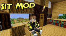 Sit Mod for Minecraft 1.16.3/1.16.2