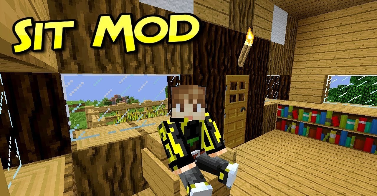 Sit Mod for Minecraft 1.16.3/1.16.2