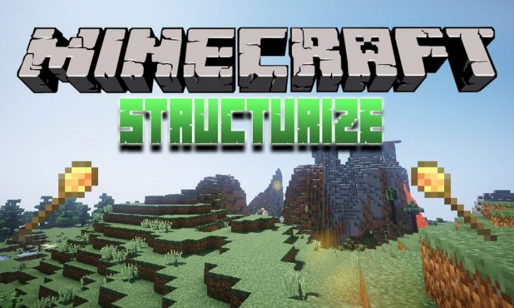 structurize mod for Minecraft