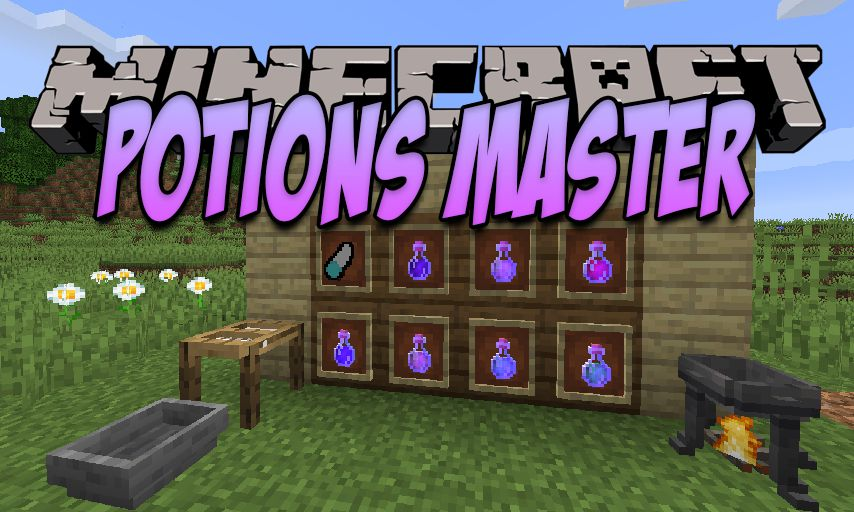 Potions Master Mod for Minecraft 1.16.3/1.16.1