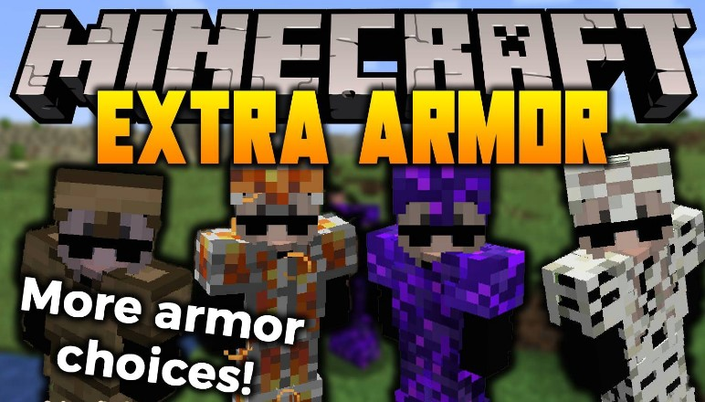Extra Armor Mod for Minecraft 1.16.4/1.16.3