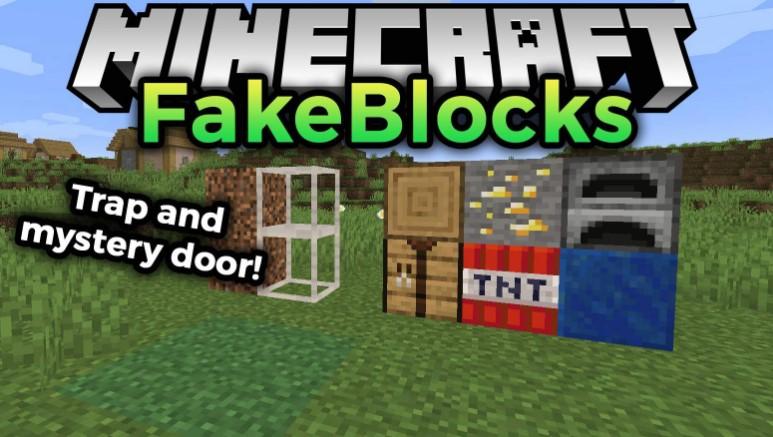 FakeBlocks Mod Minecraft