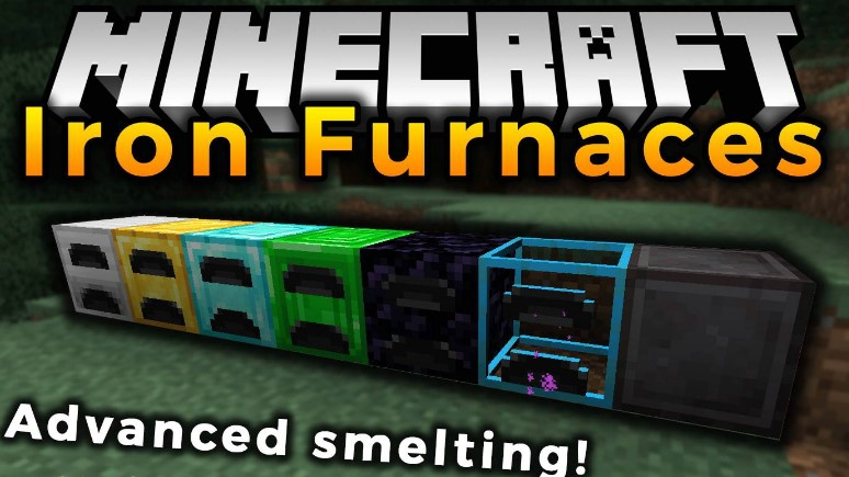 Iron Furnaces Mod