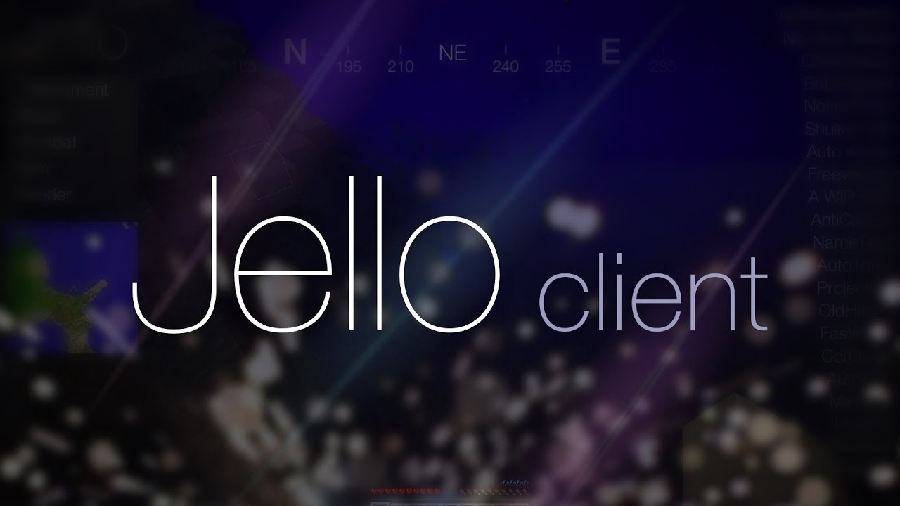 Jello hack Minecraft 1.17