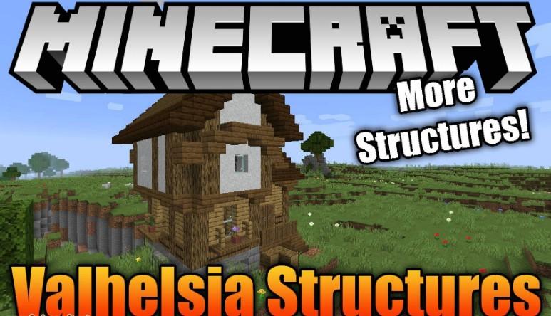 Valhelsia Structures Mod