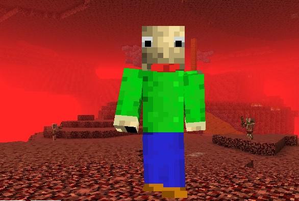 Baldi skin Minecraft