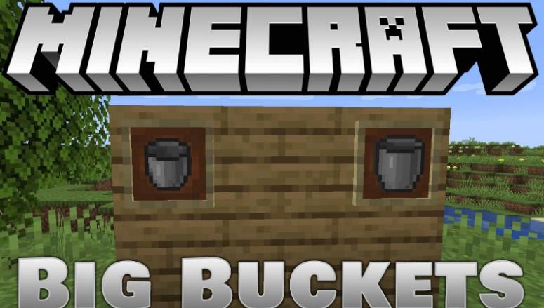 Big Bucket Minecraft mod