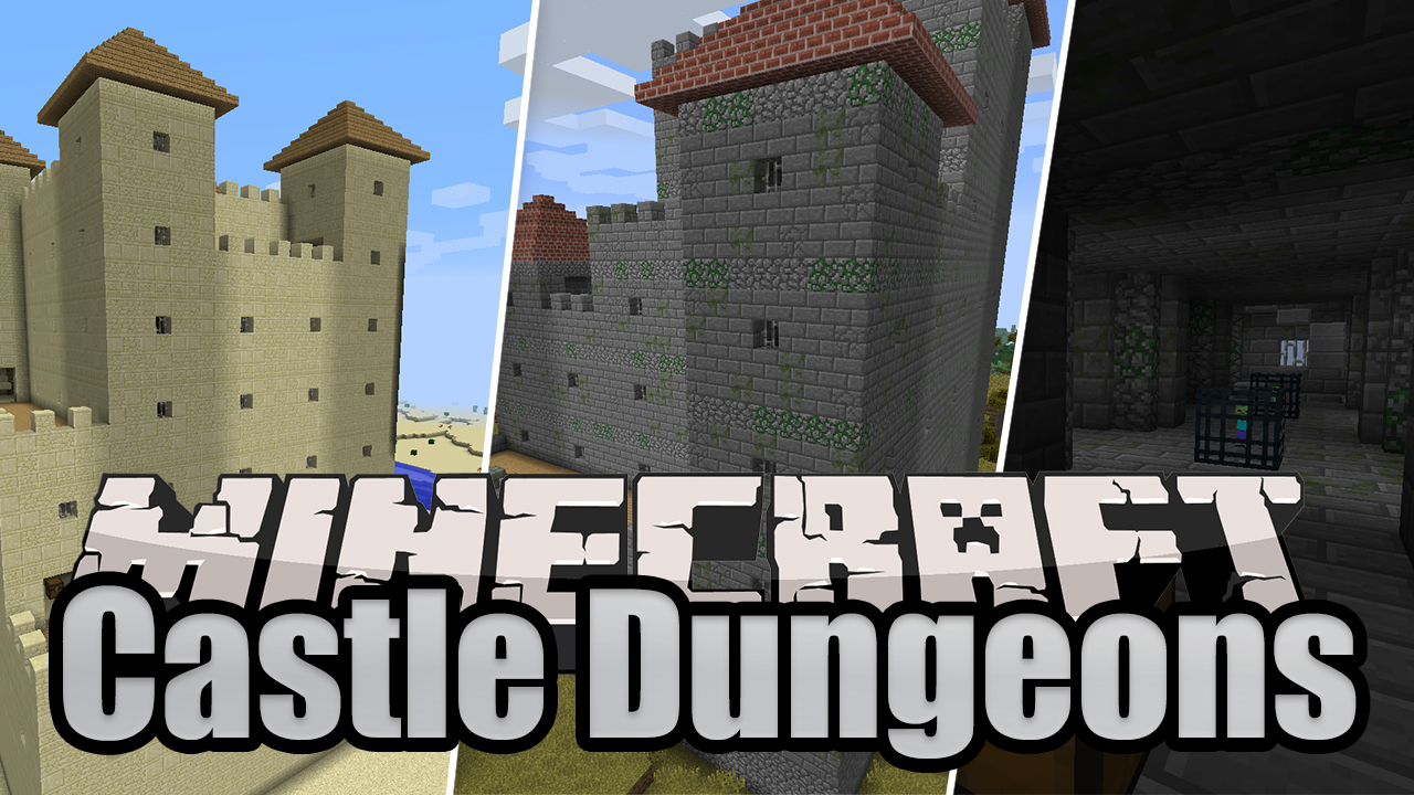 Castle Dungeons Mod for Minecraft 1.12.2