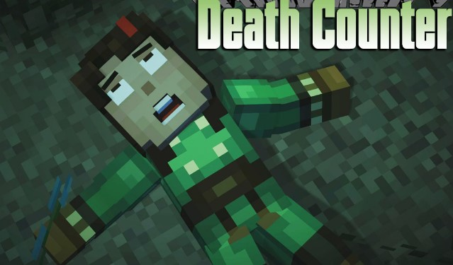 Death Counter Mod for Minecraft