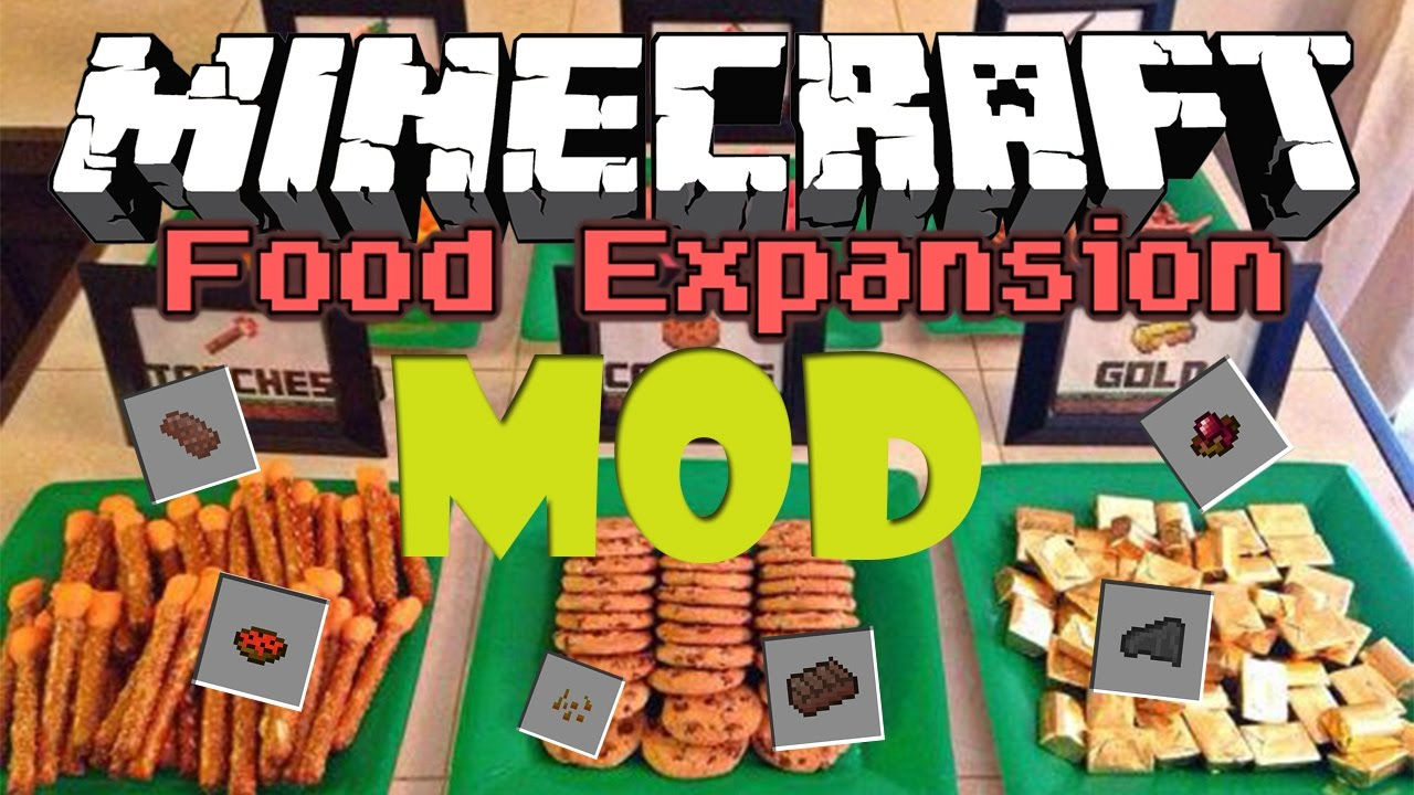 Food Expansion mod for Minecraft 1.12.2