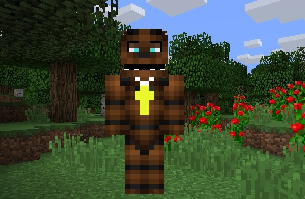 Freddy FNAF skin Minecraft