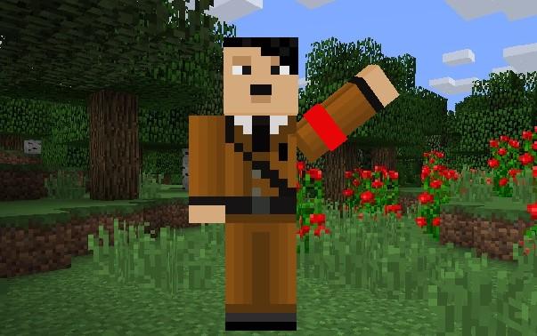 Hitler skin for Minecraft Java