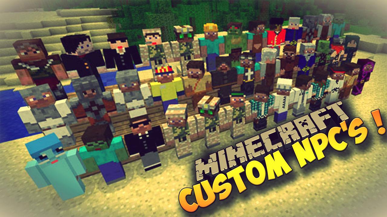 Minecraft 1.12.2 custom NPCs