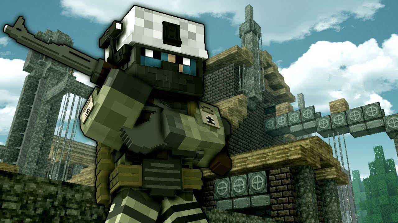 Minecraft Decimation mod Zombie