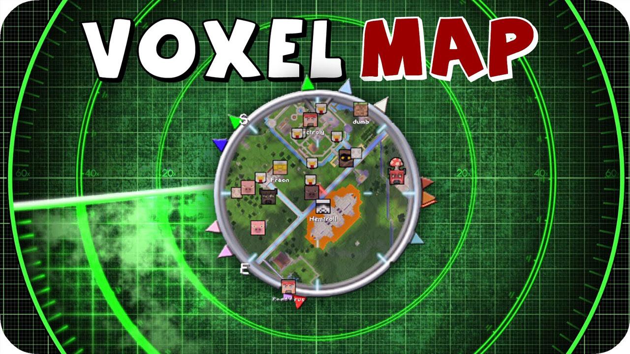 Mini map mod for Minecraft 1.12.2