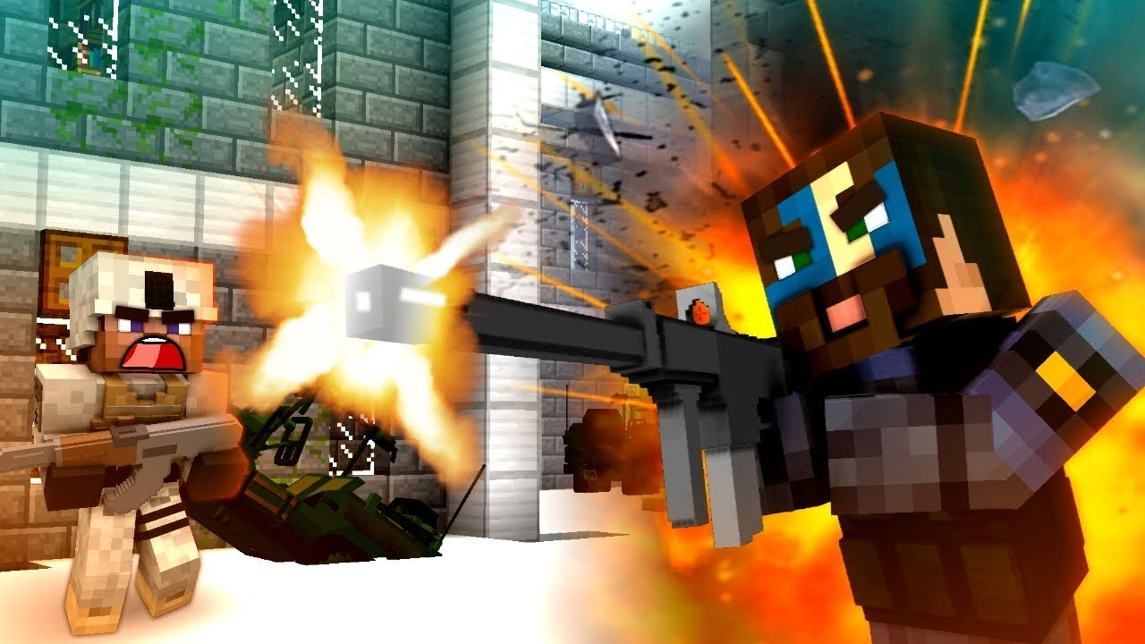 Mod for firearms Minecraft 1.12.2