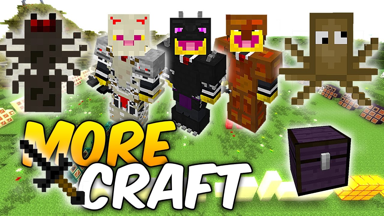 MoreCraft Mod for Minecraft 1.16.4/1.15.2/1.12.2